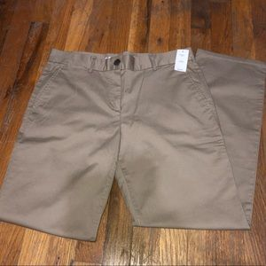 Gap Petite Straight Chino Khaki Pants